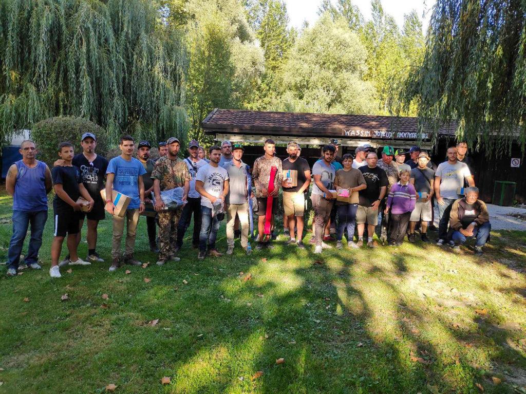 Victoire lors du Street Fishing de Romilly sur Seine