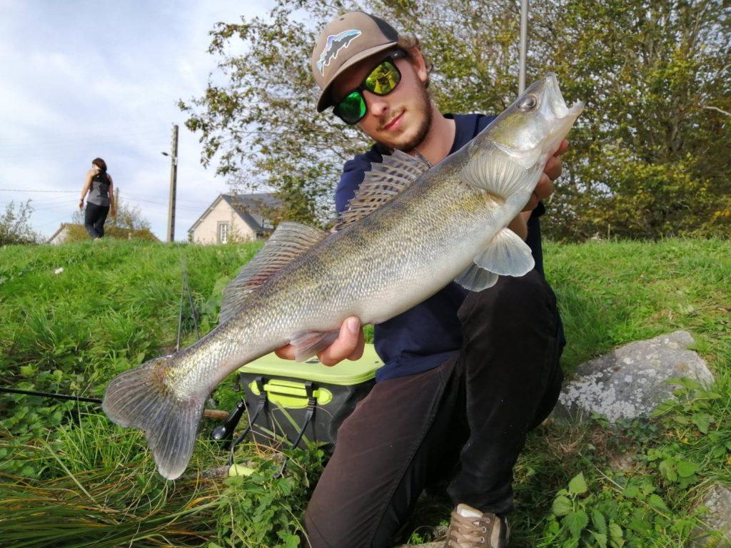 Sandre attrapé en Street Fishing a Troyes